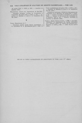 Tome 69 : Du 15 au 29 juillet 1793 - page 818