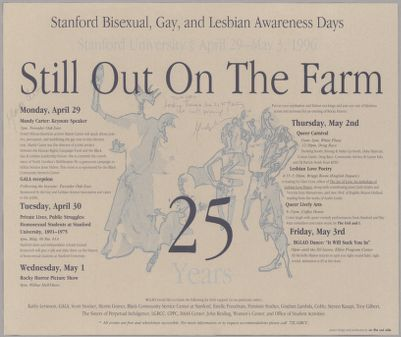 Stanford Bisexual, Gay, and Lesbian Awareness Days