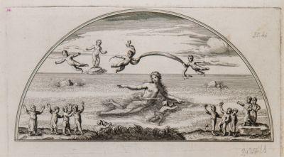 Pitture antiche nelle lunette da capo e da piede sotto la precedente volta della Vigna Guglielmina nel clivo di Scauro