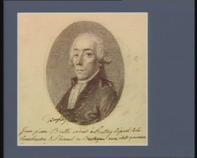 Jean pierre Boullé avocat à Pontivy député de la Senechaussée de Ploermel en Bretagne aux états généraux : [dessin]