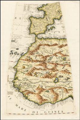 [Western Africa, North Africa, Spain, Balearic Islands: Globe Gore]