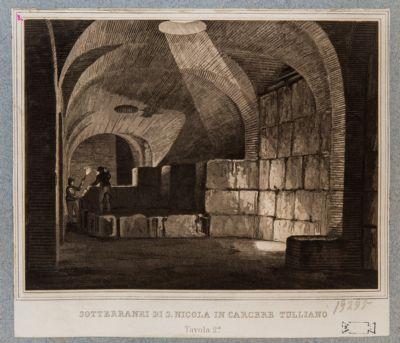 Foro Olitorio. S. Nicola in Carcere, sotterranei