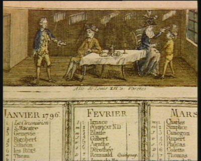 Alte de Louis XVI à Varennes [estampe]