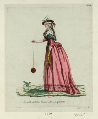 La  Belle Adeline faisant aller son emigran [estampe]