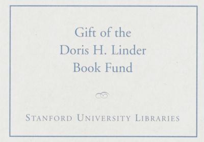 The Doris H. Linder Book Fund