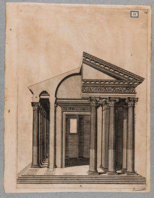 Foro di Cesare, tempio di Venere Genitrice