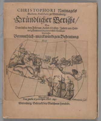 Gründlicher Bericht, von dem biß in den Februar. dieses 1665sten Jahrs, am Himmel gestandenen importirlichen Cometen, und dessen Vermuthlich-merckwürdigen Bedeutung