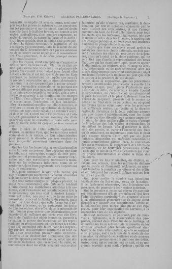 Tome 4 : 1789 – États généraux. Cahiers des sénéchaussées et baillages [Mirecourt - Paris (hors les murs)] - page 3
