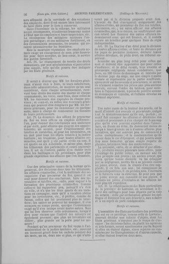 Tome 4 : 1789 – États généraux. Cahiers des sénéchaussées et baillages [Mirecourt - Paris (hors les murs)] - page 16