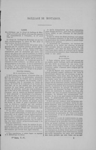 Tome 4 : 1789 – États généraux. Cahiers des sénéchaussées et baillages [Mirecourt - Paris (hors les murs)] - page 17