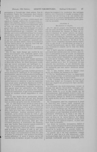 Tome 4 : 1789 – États généraux. Cahiers des sénéchaussées et baillages [Mirecourt - Paris (hors les murs)] - page 27
