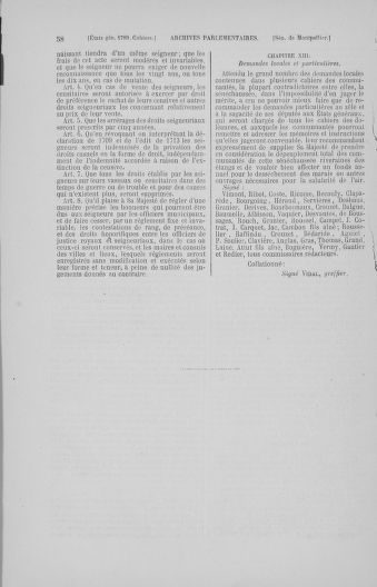 Tome 4 : 1789 – États généraux. Cahiers des sénéchaussées et baillages [Mirecourt - Paris (hors les murs)] - page 58