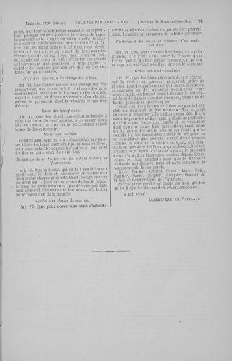 Tome 4 : 1789 – États généraux. Cahiers des sénéchaussées et baillages [Mirecourt - Paris (hors les murs)] - page 71