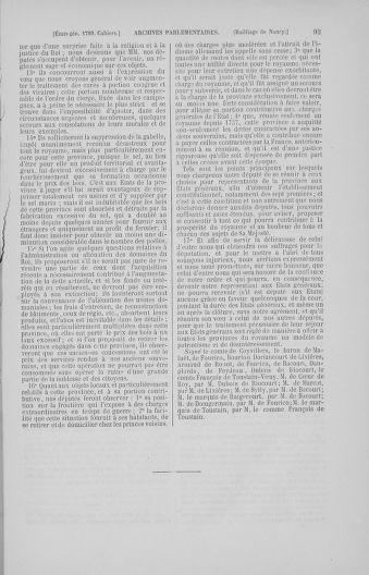 Tome 4 : 1789 – États généraux. Cahiers des sénéchaussées et baillages [Mirecourt - Paris (hors les murs)] - page 93