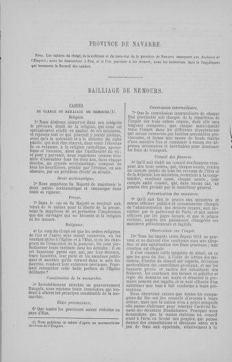 Tome 4 : 1789 – États généraux. Cahiers des sénéchaussées et baillages [Mirecourt - Paris (hors les murs)] - page 106
