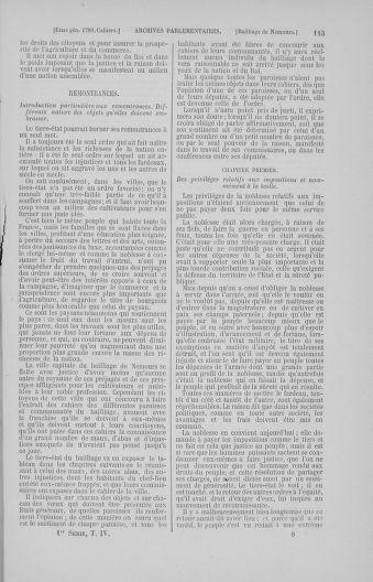 Tome 4 : 1789 – États généraux. Cahiers des sénéchaussées et baillages [Mirecourt - Paris (hors les murs)] - page 113