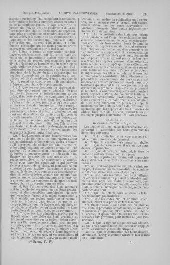 Tome 4 : 1789 – États généraux. Cahiers des sénéchaussées et baillages [Mirecourt - Paris (hors les murs)] - page 241