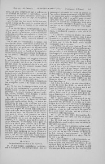Tome 4 : 1789 – États généraux. Cahiers des sénéchaussées et baillages [Mirecourt - Paris (hors les murs)] - page 243