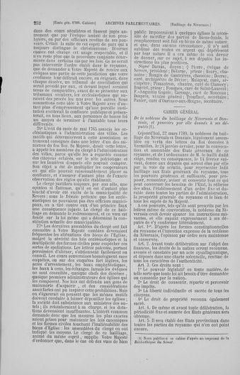 Tome 4 : 1789 – États généraux. Cahiers des sénéchaussées et baillages [Mirecourt - Paris (hors les murs)] - page 252