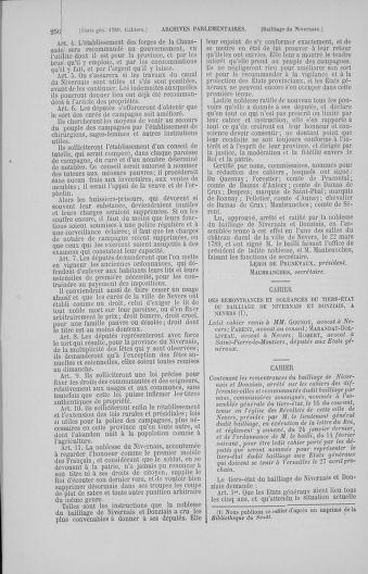 Tome 4 : 1789 – États généraux. Cahiers des sénéchaussées et baillages [Mirecourt - Paris (hors les murs)] - page 256