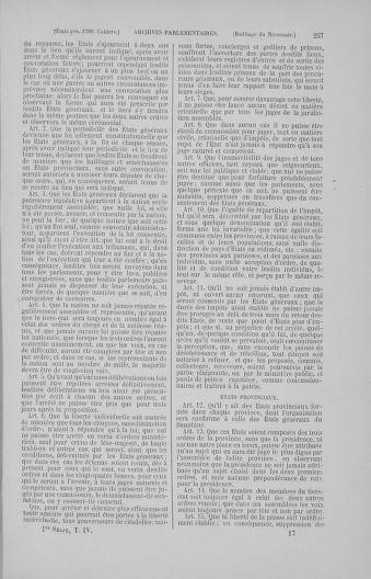 Tome 4 : 1789 – États généraux. Cahiers des sénéchaussées et baillages [Mirecourt - Paris (hors les murs)] - page 257