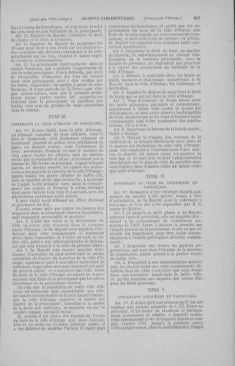 Tome 4 : 1789 – États généraux. Cahiers des sénéchaussées et baillages [Mirecourt - Paris (hors les murs)] - page 269