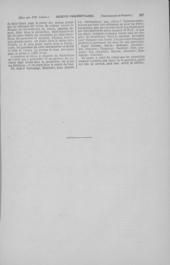 Tome 4 : 1789 – États généraux. Cahiers des sénéchaussées et baillages [Mirecourt - Paris (hors les murs)] - page 287