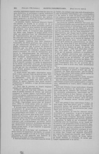 Tome 4 : 1789 – États généraux. Cahiers des sénéchaussées et baillages [Mirecourt - Paris (hors les murs)] - page 296