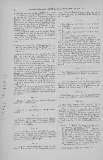 Tome 67 : Du 20 au 30 juin 1793 - page 2