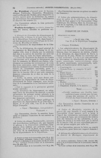 Tome 67 : Du 20 au 30 juin 1793 - page 54