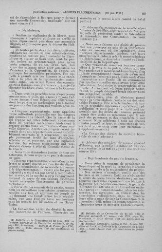 Tome 67 : Du 20 au 30 juin 1793 - page 89
