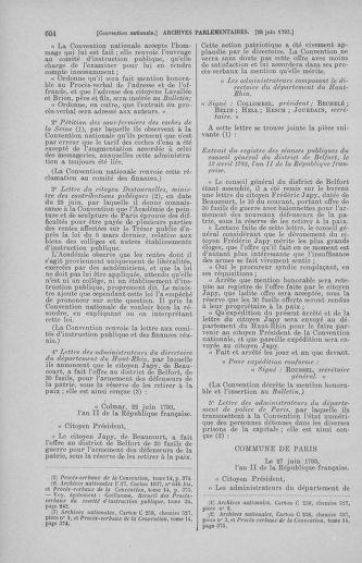 Tome 67 : Du 20 au 30 juin 1793 - page 604