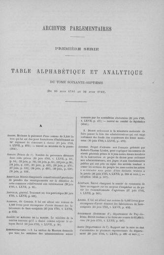 Tome 67 : Du 20 au 30 juin 1793 - page 731