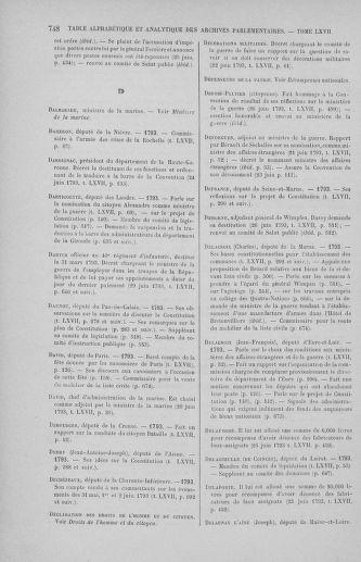 Tome 67 : Du 20 au 30 juin 1793 - page 748