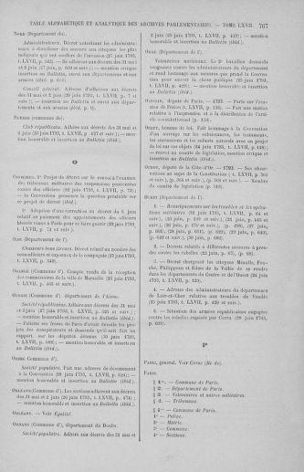 Tome 67 : Du 20 au 30 juin 1793 - page 767