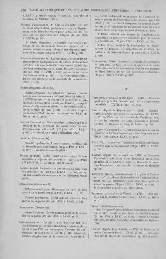 Tome 67 : Du 20 au 30 juin 1793 - page 776