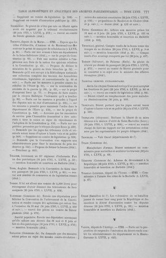 Tome 67 : Du 20 au 30 juin 1793 - page 777