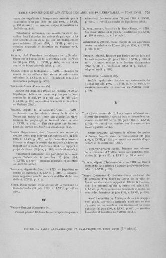 Tome 67 : Du 20 au 30 juin 1793 - page 779