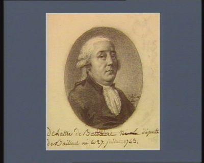 Delattre de Batsaert député de Bailleul né le 27 juillet 1743 : [dessin]