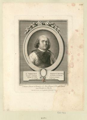 D. Verguet, prieur du Relleeq, vicaire général de l'ordre de Citeaux député de S. Pol de Leon en Bretagne né à Champtillé le 28 mars 1744 : [estampe]