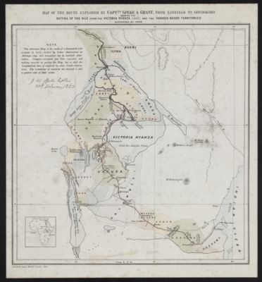 The Nile Project Maps  Maps of Africa An Online Exhibit