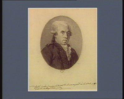 Claude nicolas jacques Le Bigot de Beauregard né le 16 oct. 17[4]8 deputé du baillage d'alençon : [dessin]