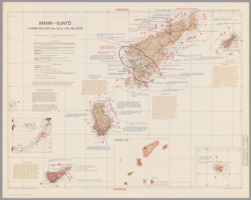 Revised estimate of Nansei-Shotō (including Ryūkyū-rettō and Satsunan-shotō)
