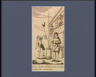 Louis Narbonne amusant la Liberté par des gambades [estampe]