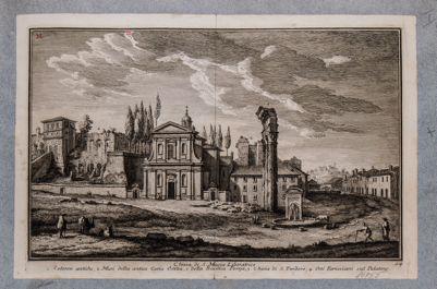 Tempio di Castore e Polluce, resti, settentrione