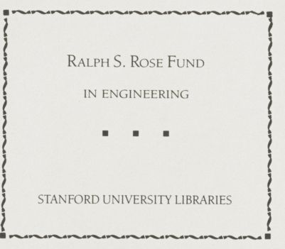 Ralph S. Rose Fund in Engineering