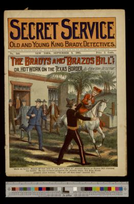 "The Bradys and ""Brazos Bill;"" or, Hot Work on the Texas Border"