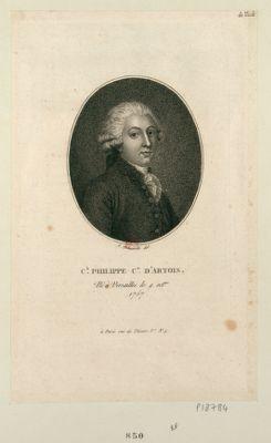Ch. Philippe c.te d'Artois né à Versailles le 9 oct.bre 1757 : [estampe]