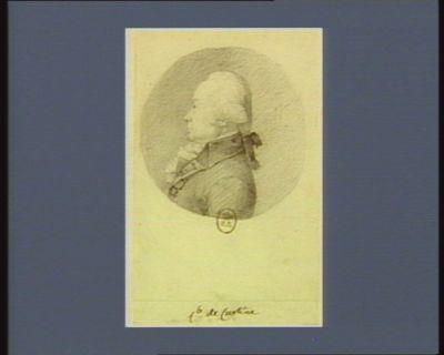 C.te de Custine [dessin]