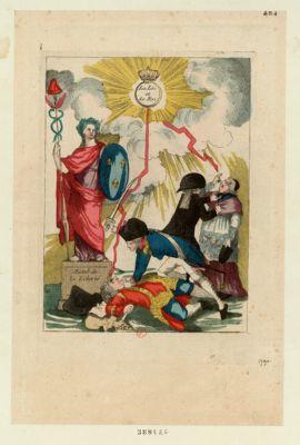 La  Loi et le Roi autel de la liberté : [estampe]